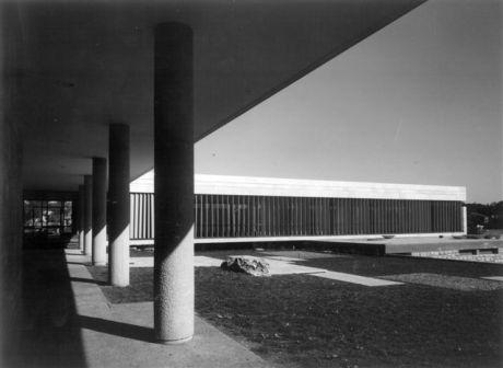 """בניין מועצת הפועלות ע""""ש אלישבע אשכול, ירושלים, 1962"""